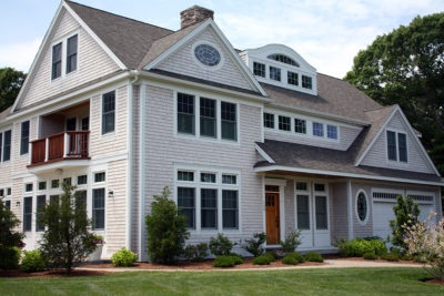 New Cape Cod Home Building